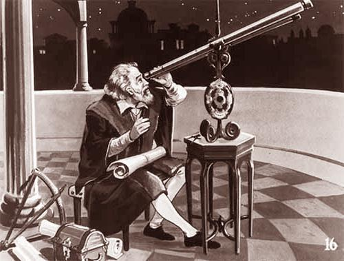 Fig 5 Galileo Looking at Planets