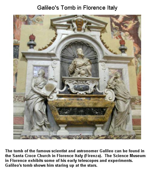 Fig 8 Galileo's Tomb