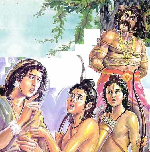 Scene -5 Twins tie Hanuman