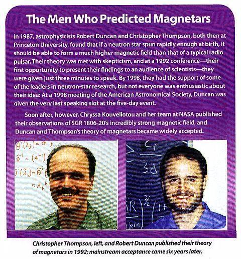 Fig 6 The Magnetar Pioneers