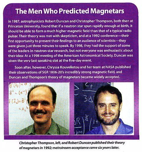 Fig 6 The Magnetar Pioneers