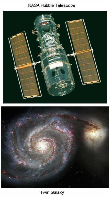 Fig 8 Hubble Images