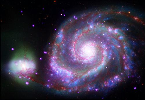 Fig 1A Two Galaxies