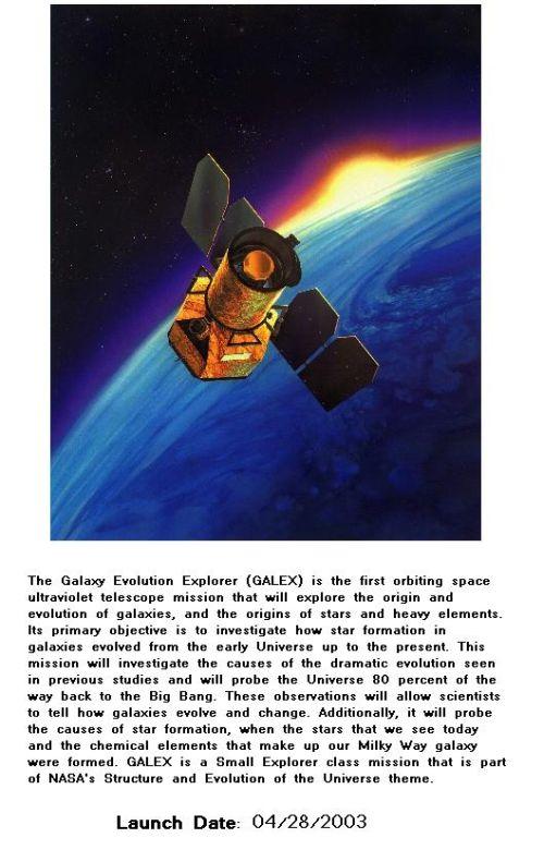Fig 1G The Galex Space Telescope