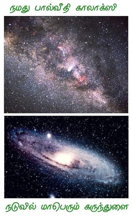 Fig 2 Our Huge Milky Way Galaxy