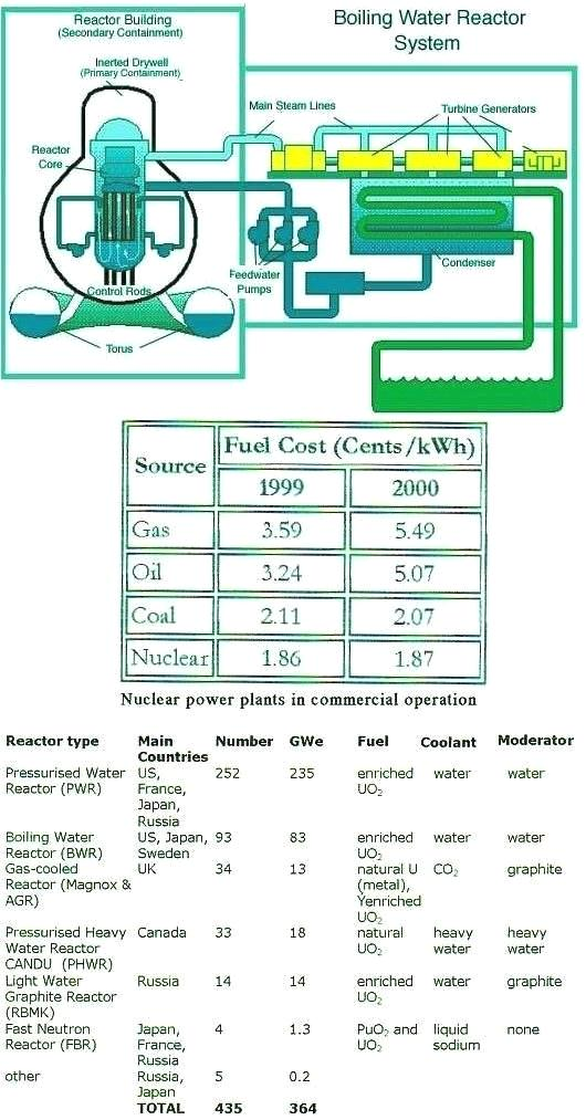 Boiling Water Reactor Schematics
