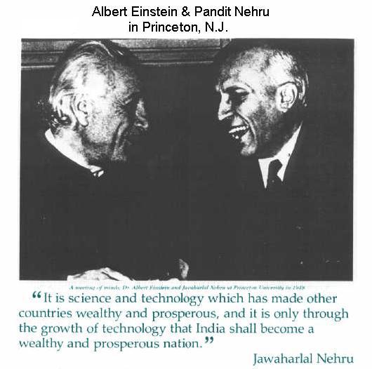Fig 1B Einstein & Nehru