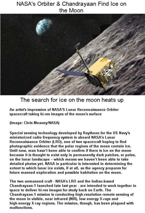 Fig 1C NASA's LRO & Chandrayaan Find Ice