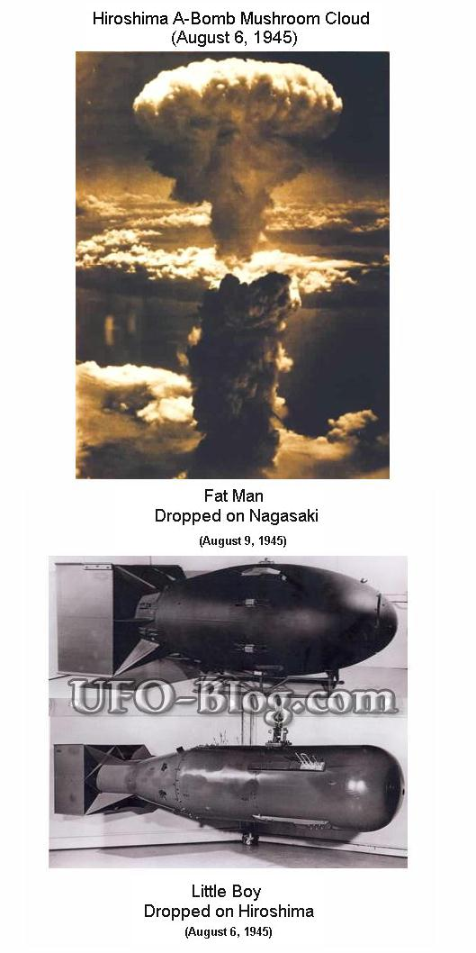 Fig 1D Bombs Dropped on Japan