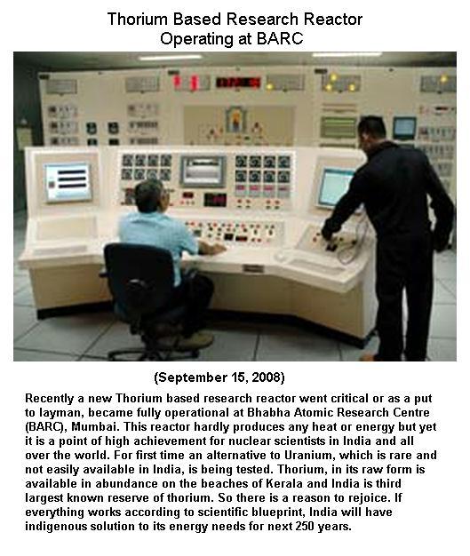 Fig 3 Thorium Based Reactor