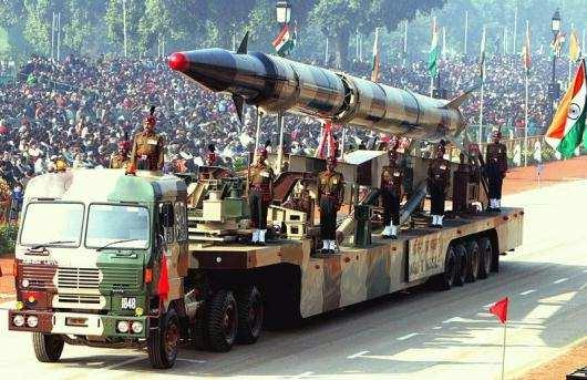 Indian Missile Warhead