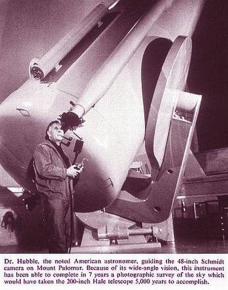 Fig 6 Dr Edwin Hubble's Telescope