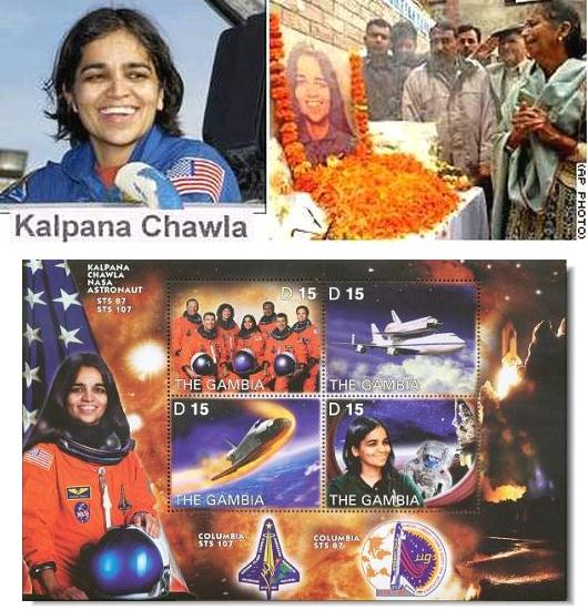 Fig 12 Kalpana Chawla Remembered