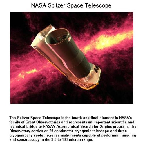 Fig 1A NASA Spitzer Telescope