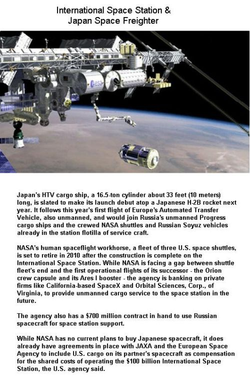 Fig 4 Japan Freighter Near Space Station
