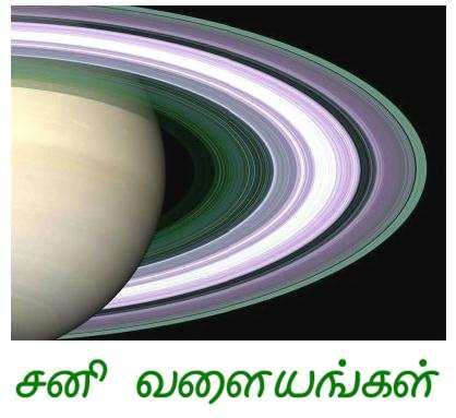 Fig 5 Saturn's Old Rings