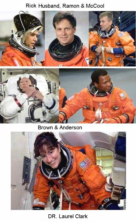 Fig 5 The other Crew Astronauts