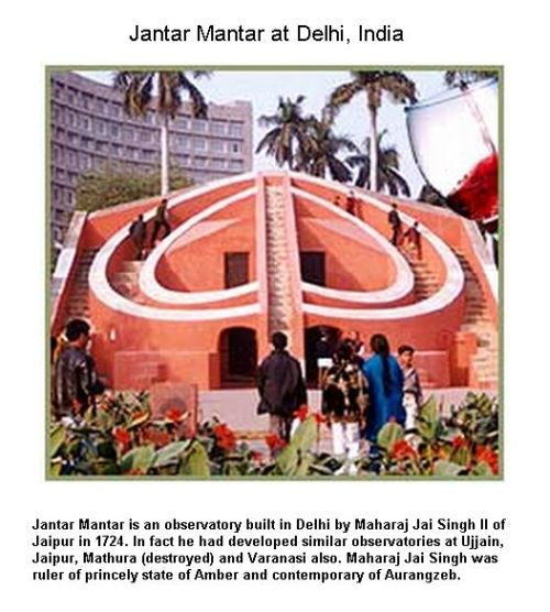 Fig 9 Jantar Mantar at Delhi