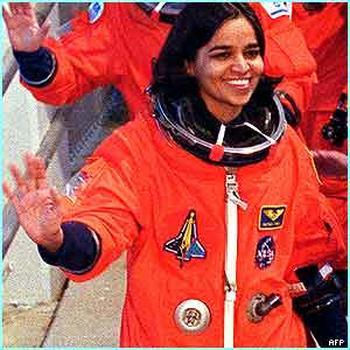 Kalpana Chawla Bidding Farewell