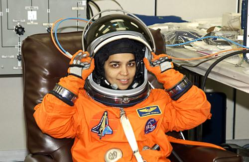Kalpana Chawla in Training