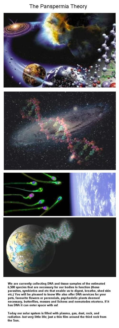 Fig 1C The Panspermia Theory