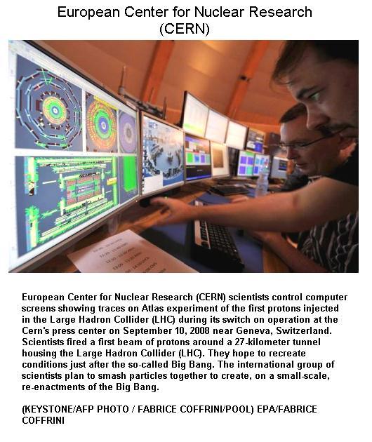 Fig 2 CERN Control Room -1
