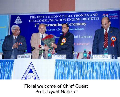 Fig 2 Prof J Narlikar