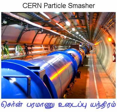 Fig 6 CERN Particle Smasher