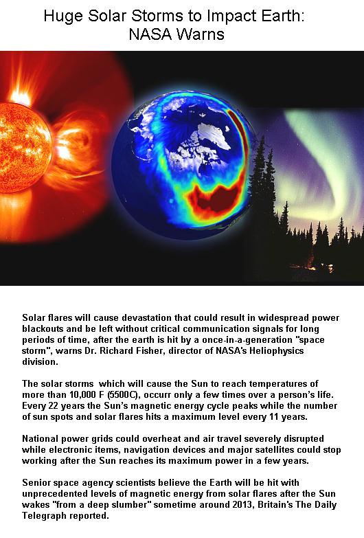 solar storm impact on humans - photo #25