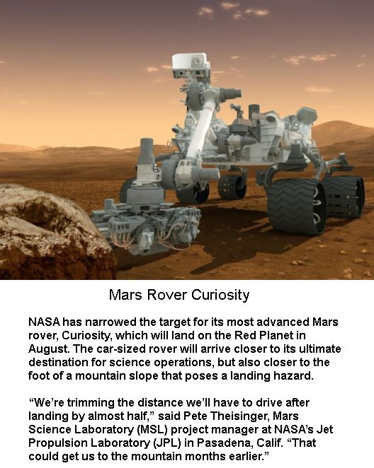 mars curiosity rover landing animation - photo #31
