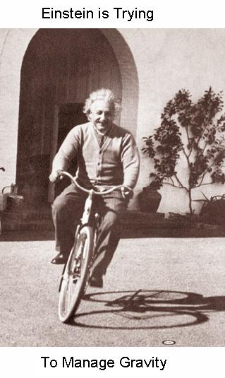 Fig 8 Einstein Manages Gravity