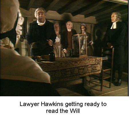 Fig 4 Lawyer Hawkins getting ready