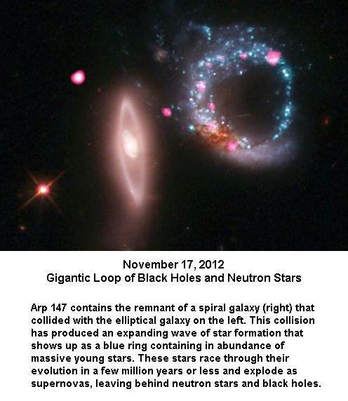 Gigantic loop of black holes