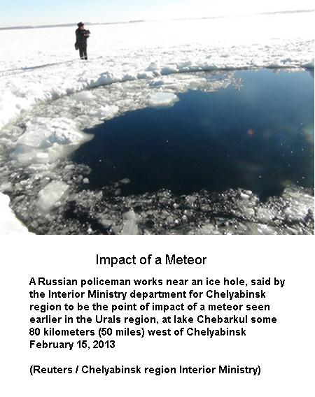 Impact of a Meteor