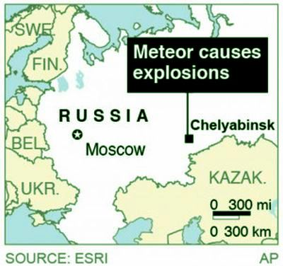 Location of Impact