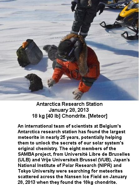 Antarctica Meteorite