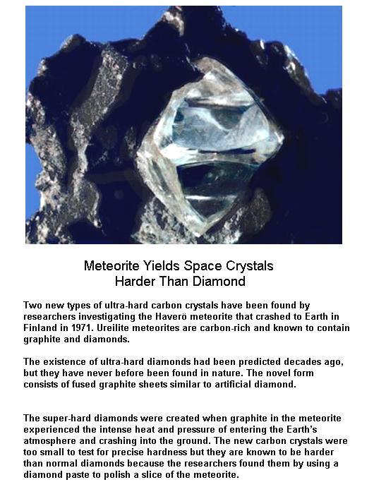 Harder than Diamonds