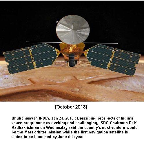 Mars Mission 2013-2015
