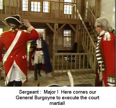 Fig 1 Here comes General Burgoyne