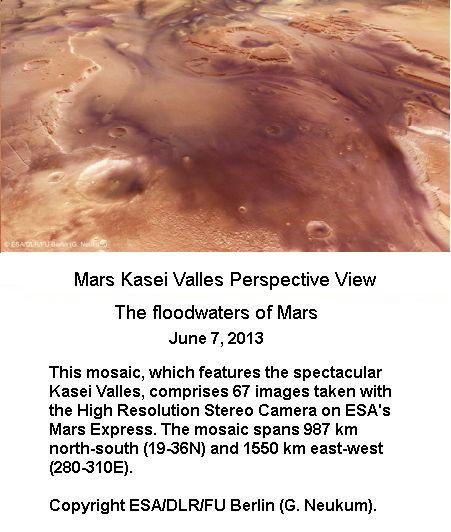 Flood waters on Mars -1