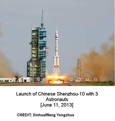 Launch of Shenzhou-10