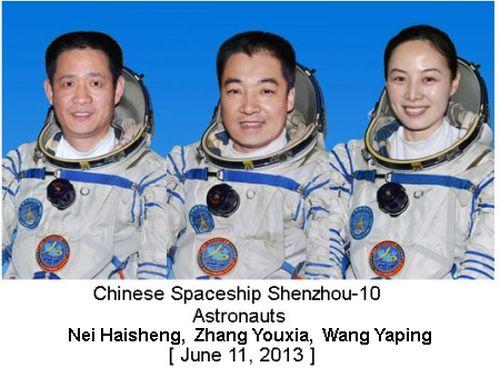 Shenzhou -10 Astronauts
