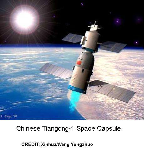 Tiangong-1 Space Capsule