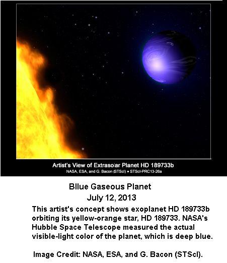 Blue Gaseous Planet -1