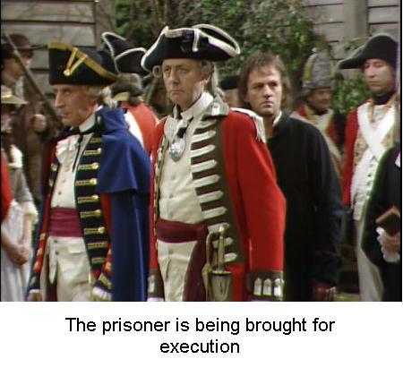 Fig 6 Prisoner is brought for