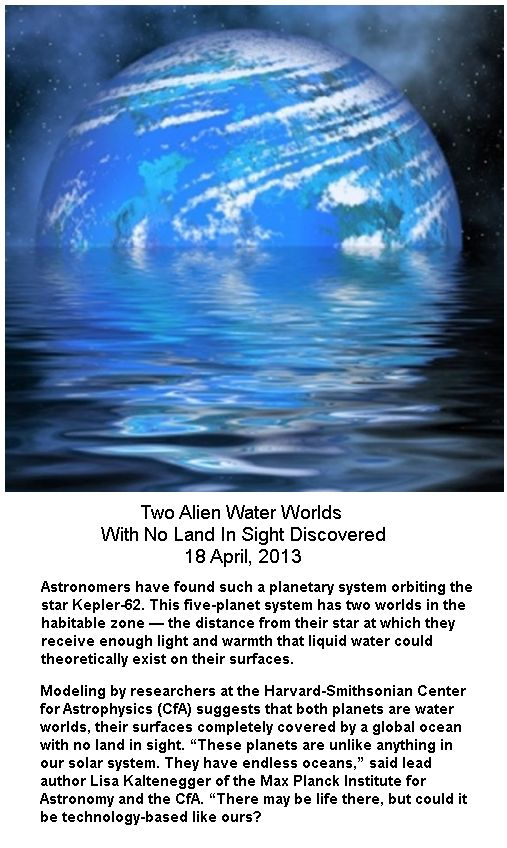 Two Water Planets