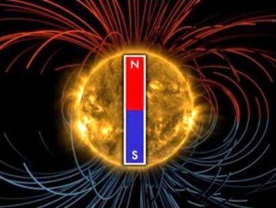 Solar pole change -1