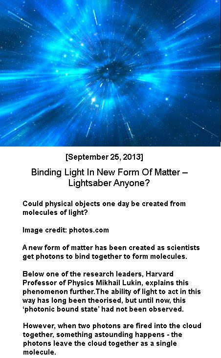 Binding Light