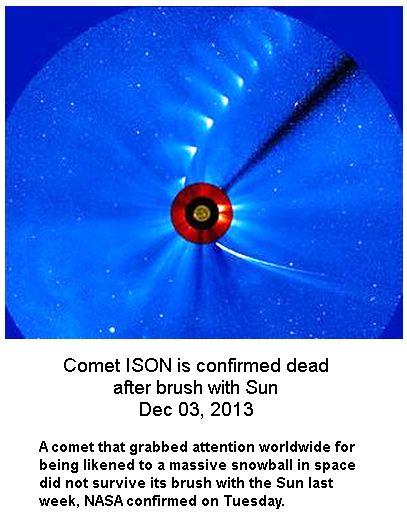 Iscon Comet Dead