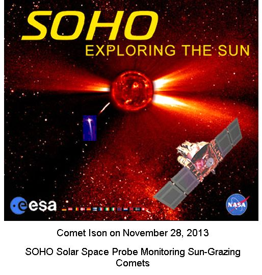 SOHO watching the comets
